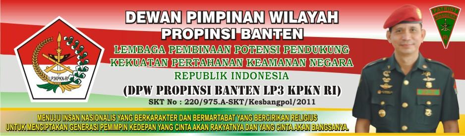 LP3 KPKN-RI DPW PROPINSI BANTEN
