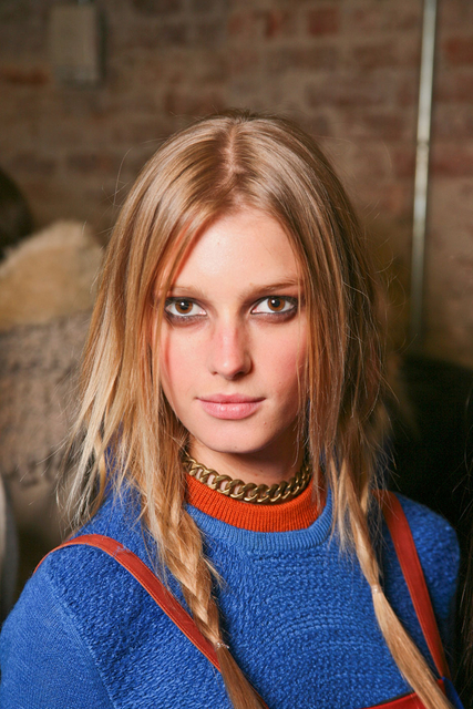 Fall/Winter 2011 Rag & Bone runway hairstyle