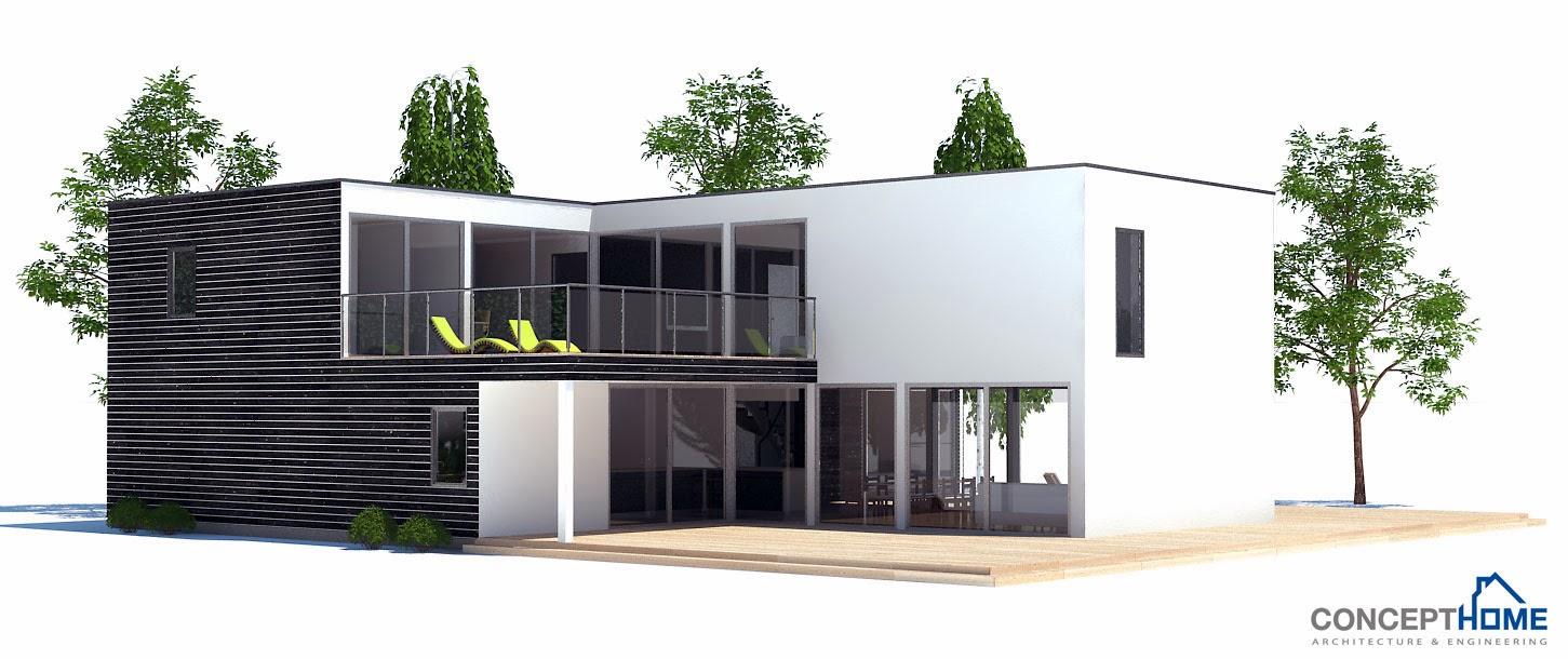 Plantas de casas modernas planta de casa moderna ch185 for Plantas modernas para jardin