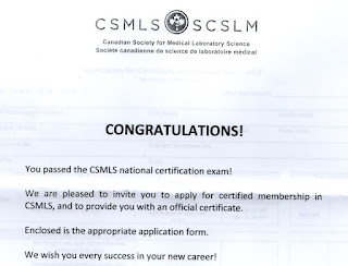 how to prepare for csmls exam