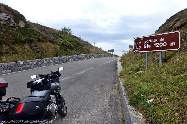 cima de Portillo de La Sía, 1200m