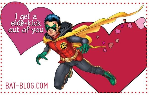 BAT BLOG BATMAN TOYS and COLLECTIBLES New BATMAN GRAPHICS – Batman Valentines Day Card