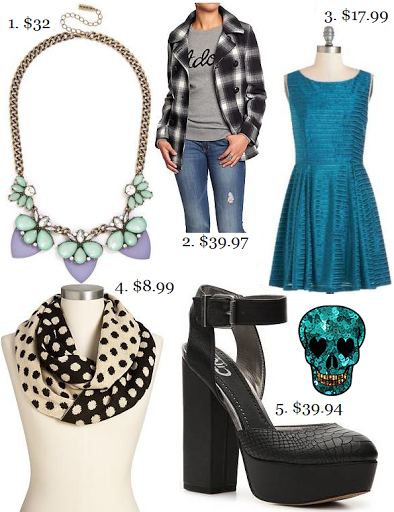 Sequins and Skulls: Weekend Steals Under $40