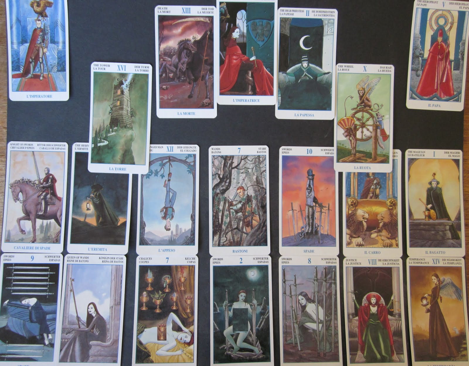 Children\'s Publishing Blogs - tarot cards blog posts