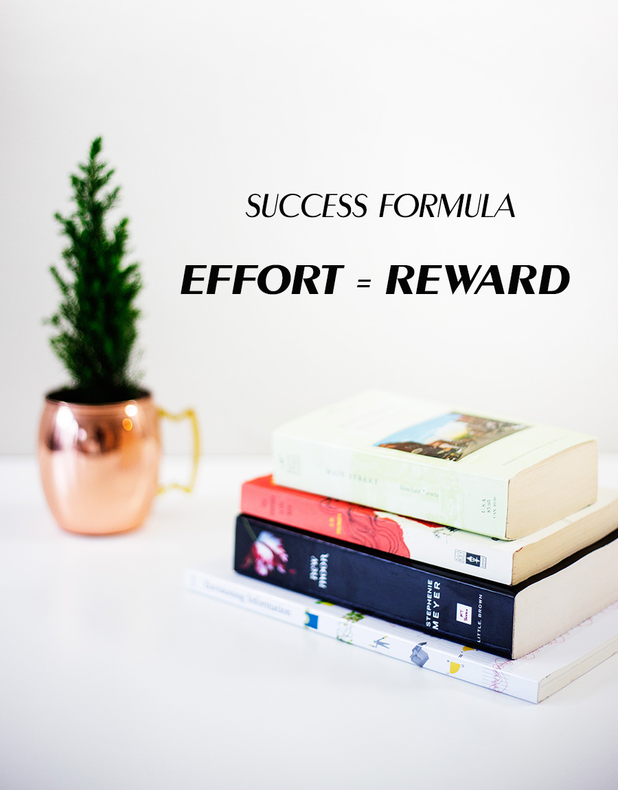 The most basic and true way for success