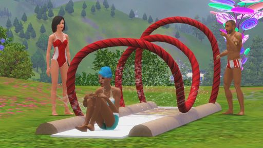 Screen Shot Of The Sims 3 Katy Perry Sweet Treats (2012) Full PC Game Free Download At Downloadingzoo.Com