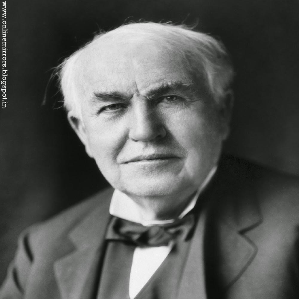 Mirror Online Thomas Alva Edison