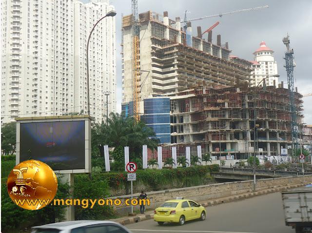 Suasana Jakarta. Foto jepretan admin di Podomoro City