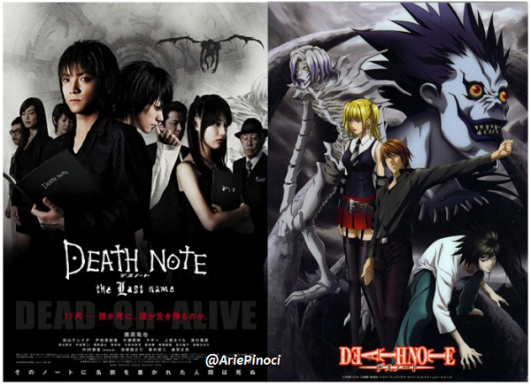 Death Note Live-Action Movie Manga