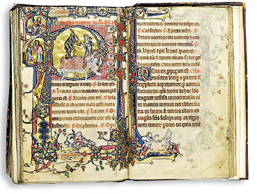 Daily Medieval The Macclesfield Psalter