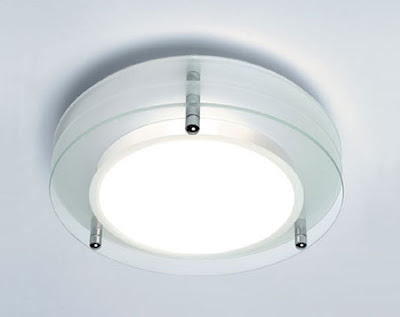 The AX0203 Strata Round Triplex Glass Light - Astro 0203 Strata Stylish Flush Lamp