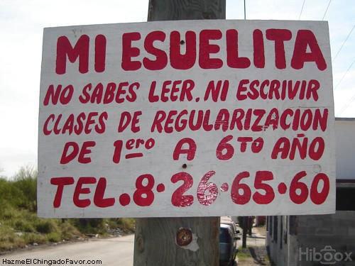 Letreros de Groserias e Insultos: Entra, no te Arrepentiras!