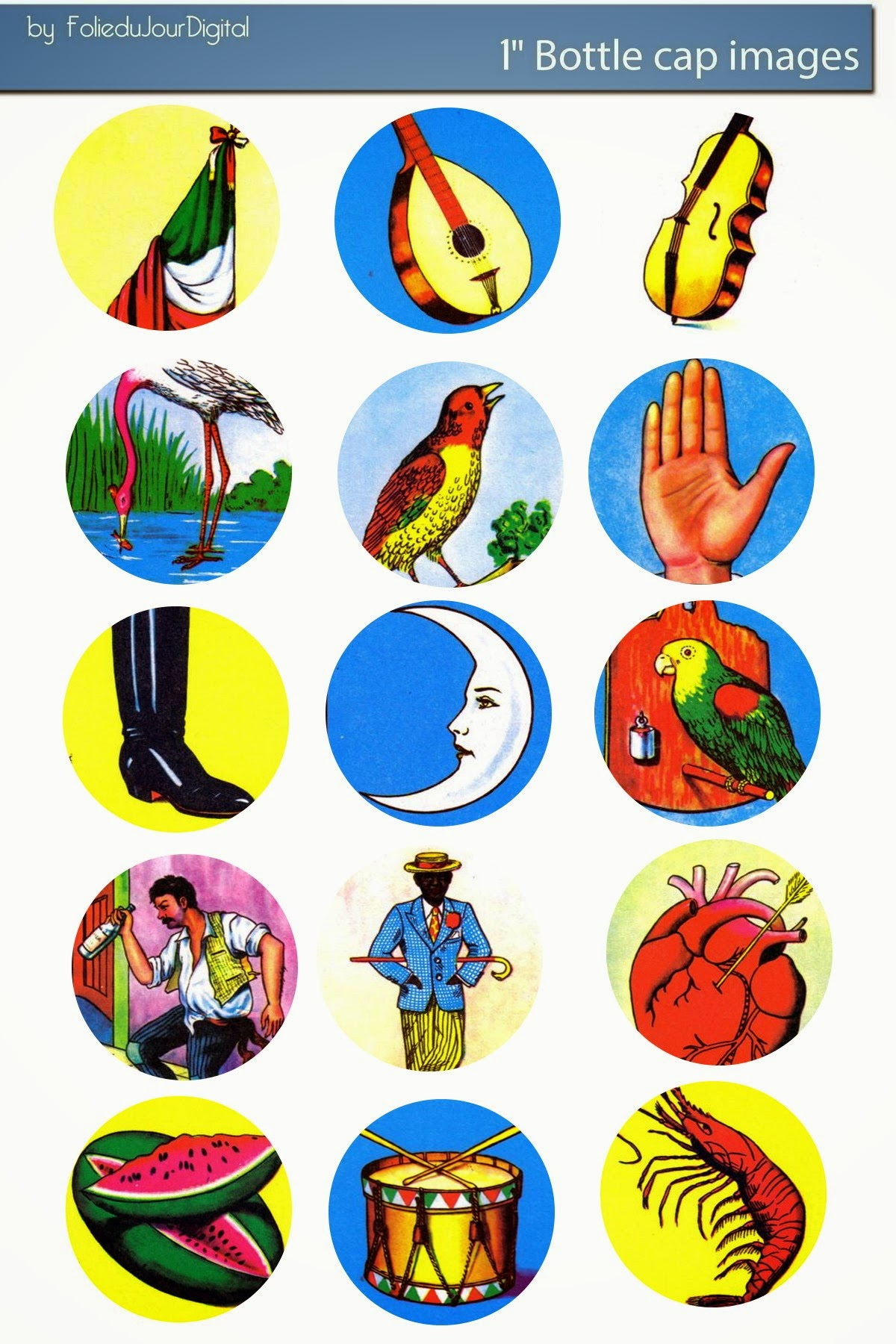 It's just a graphic of Clever Printable Loteria Mexicana