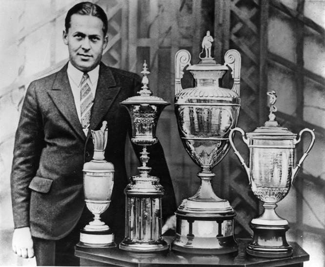 Calendar Year Grand Slam Golf : The successful pro shop new bobby jones