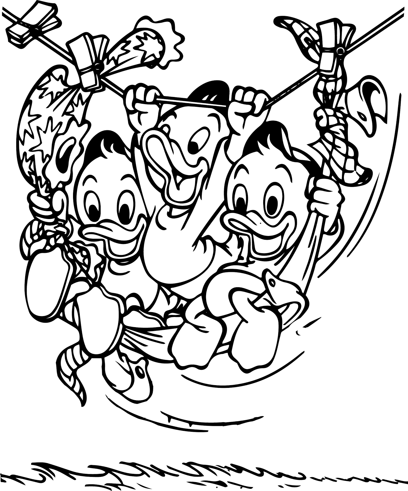 Free Coloring Pages Of Tug A War