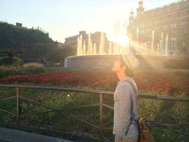 Barcelona, Spanyol,Eropa,Wisata,Travelling, Placa De Catalunya