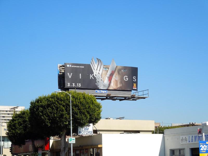 Vikings special extension TV billboard