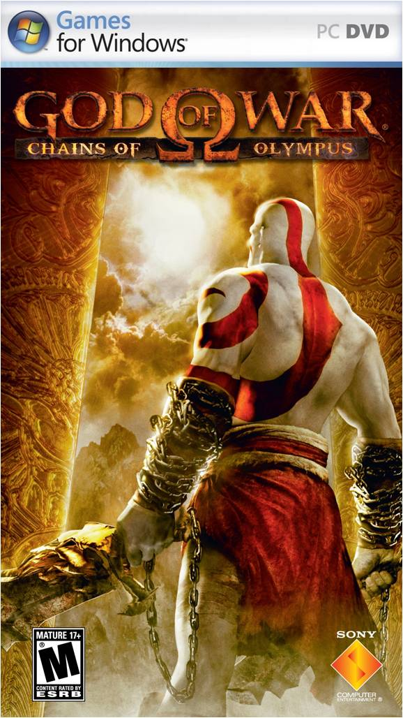 god of war chains of olympus na version front cover2 God of War: Chains of Olympus (PC)