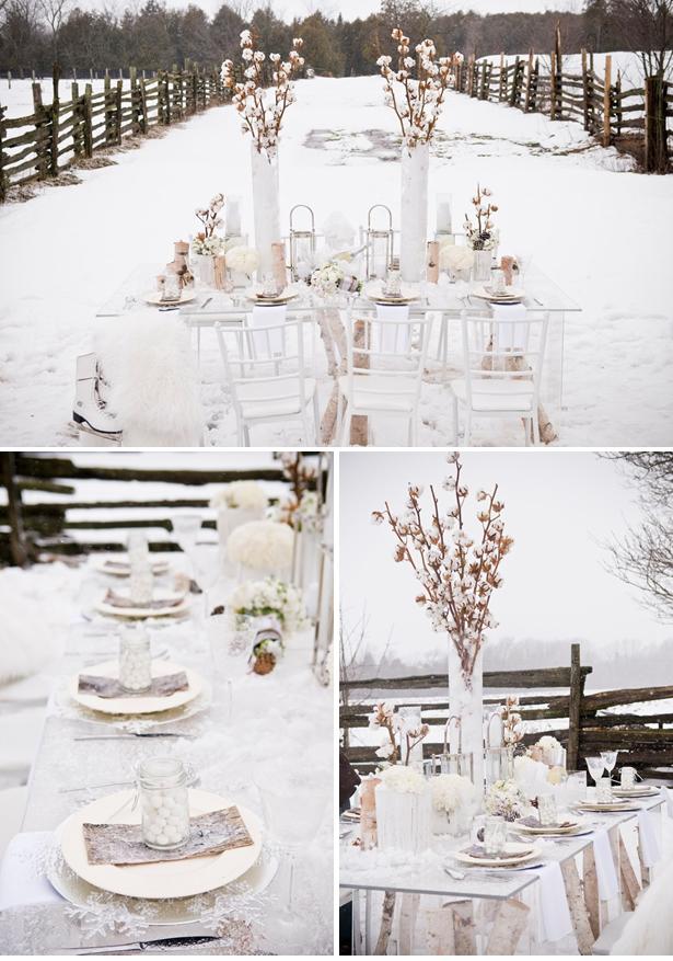 ideias para noiva e casamento casamento na neve. Black Bedroom Furniture Sets. Home Design Ideas