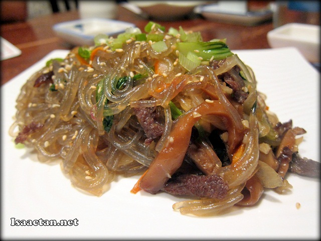 Gab Che (Fried and Mix Vegetable Korean Glass Noodle)- RM25