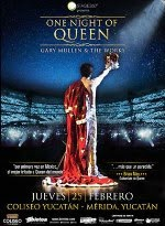 ONE NIGHT OF QUEEN 25 FEBRERO