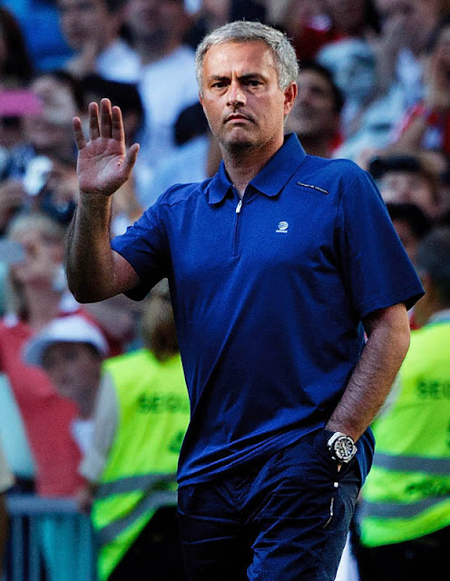WANTED: Real president Florentino Perez is keen on a Mourinho return to the Spanish giants