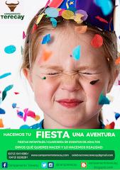 Celebraciones Terecay: hacemos de tu fiesta una aventura