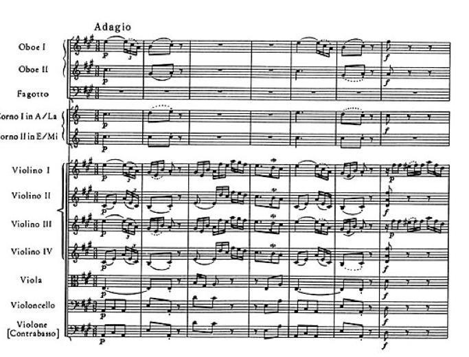 The music salon haydn symphony no 45 in f minor for Adagio salon eagle co