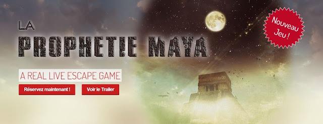 Mystery Escape ~ La Prophétie Maya