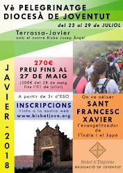 Vè PELEGRINATGE DIOCESÀ DE JOVENTUT - JAVIER 2018 - INSCRIPCIONS OBERTES!!!