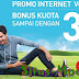 Promo Smartfren : Gratis Extra Bonus Kuota Untuk Pembelian Paket  Volume Based