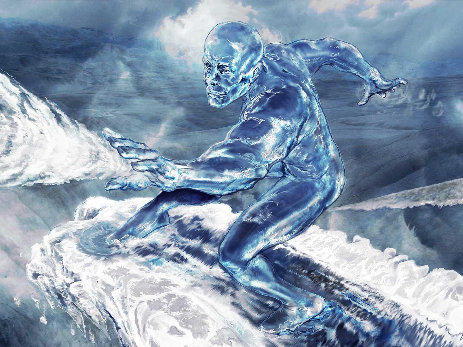 Deanne Morrison Silver Surfer Background