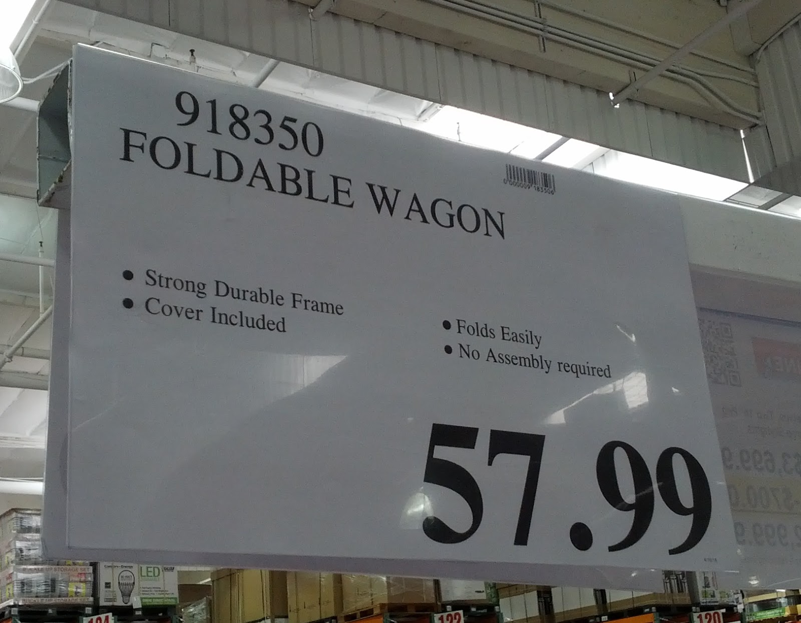 Deal for Foldable Wagon at Costco