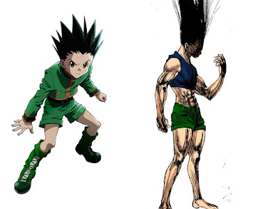 4. Gon Freecss (Hunter X Hunter)