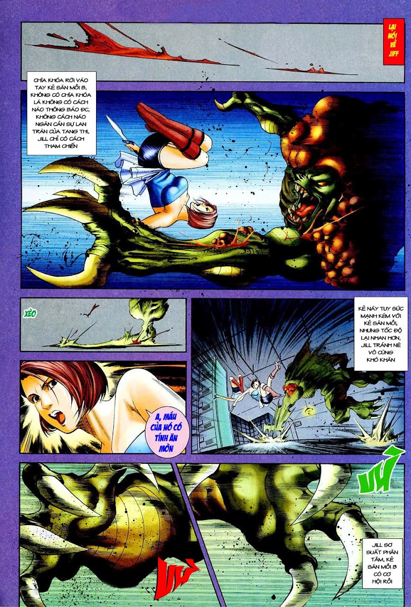 Resident Evil 3 chap 4 - Trang 22