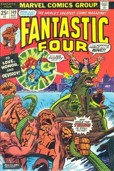 Fantastic Four #149, the Sub-Mariner