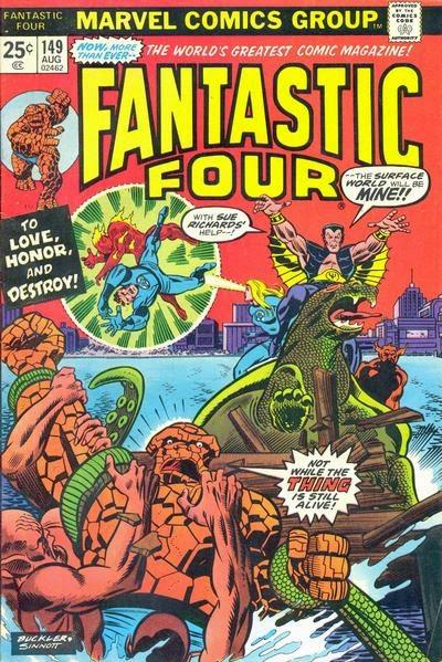 Fantastic Four #149, the Sub-Mariner