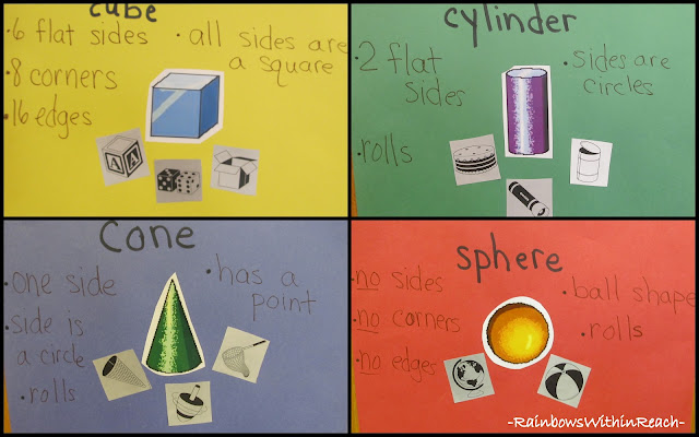 photo of: Solid Shapes Explored in Kindergarten, Make Math Meaningful
