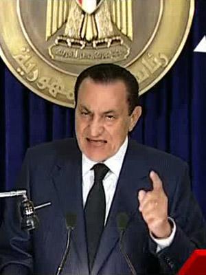 Ex-presidente Hosni Mubarak