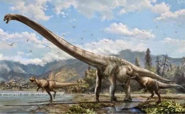 Ο δεινόσαυρος «καμηλοπάρδαλη»