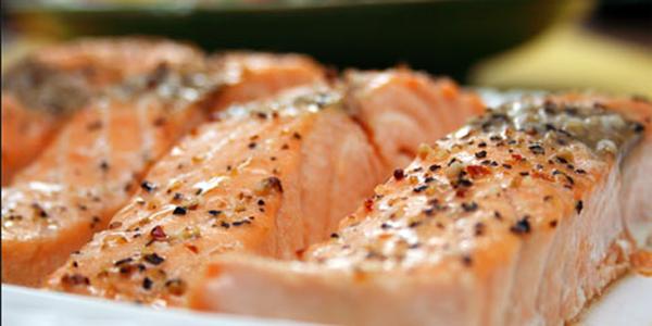 Salmon al horno recetas de cocina cocinar facil online for Cocinar berenjenas facil
