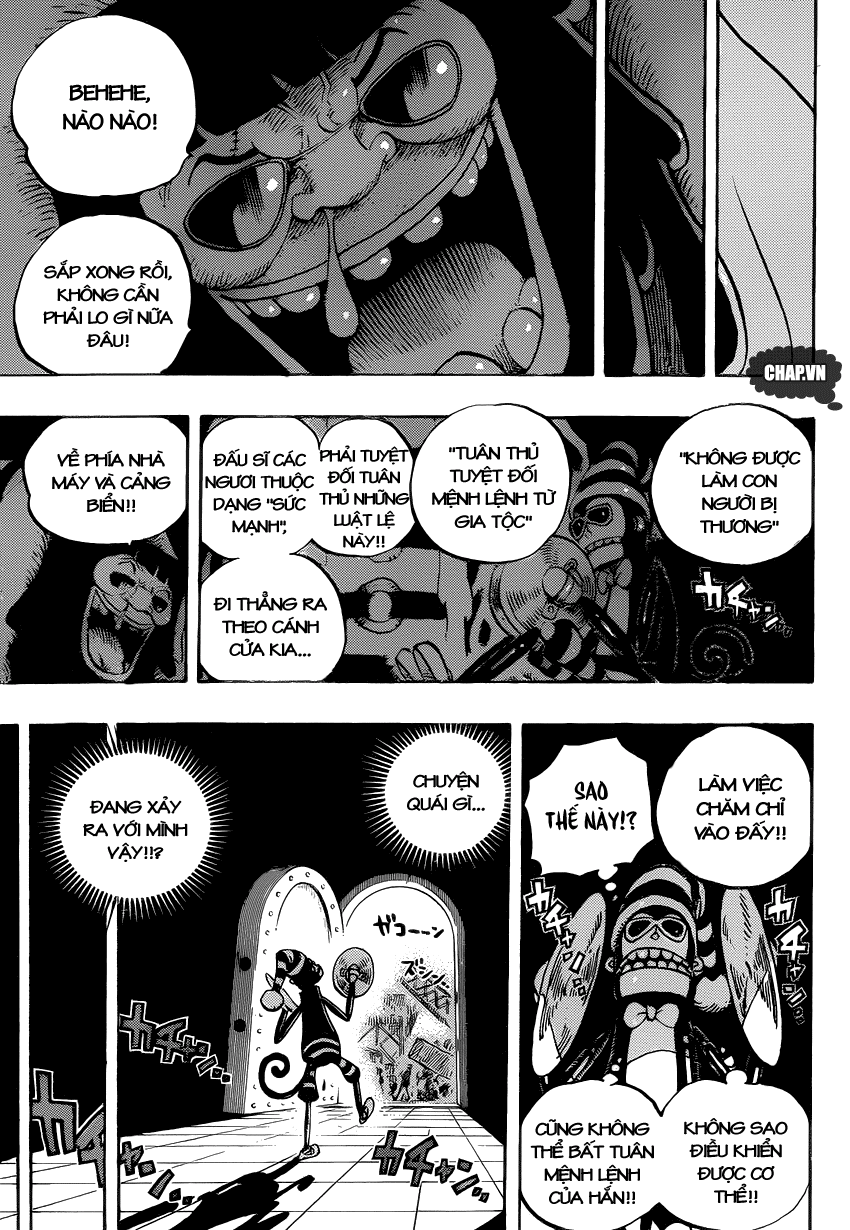 One Piece Chapter 726: Gia tộc Riku 011