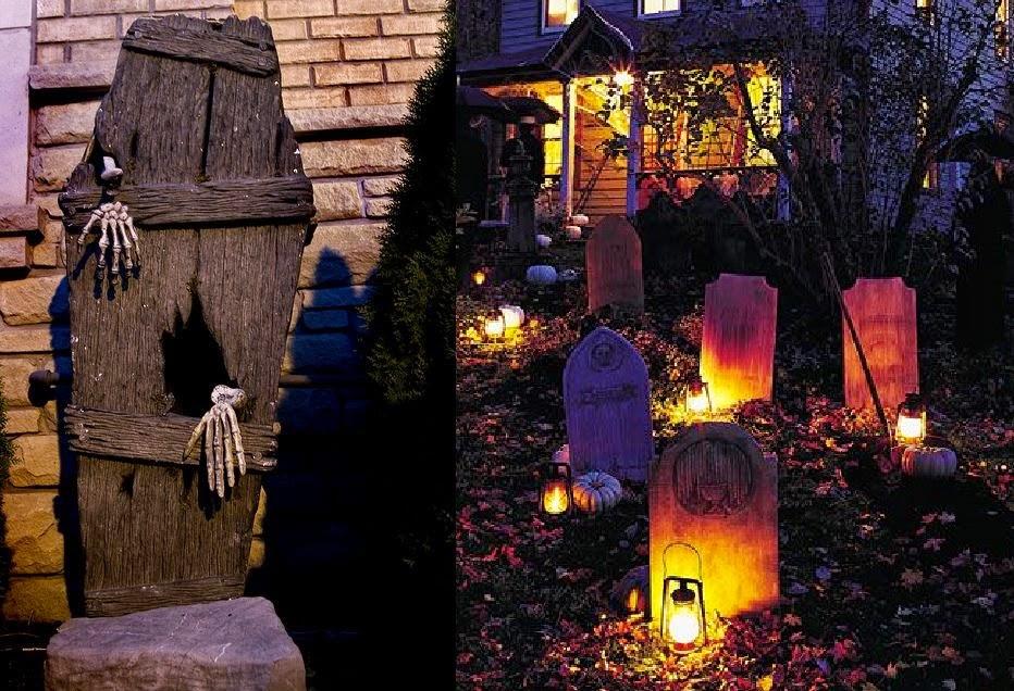Decoracion de halloween para casas exterior - Decoracion de halloween para casas ...