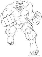 Hulk Memukul Para Penjahat Dengan Tinju