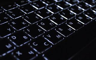 Black Keyboard Light Buttons HD Wallpaper