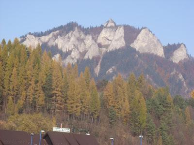 Trzy Korony jesienią