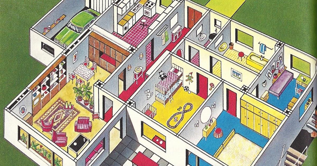 Mondorama 2000: Interieur d\'une maison