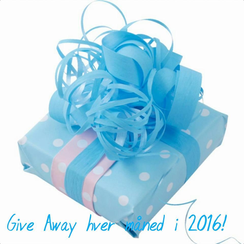 Give Away trækkes hver måned