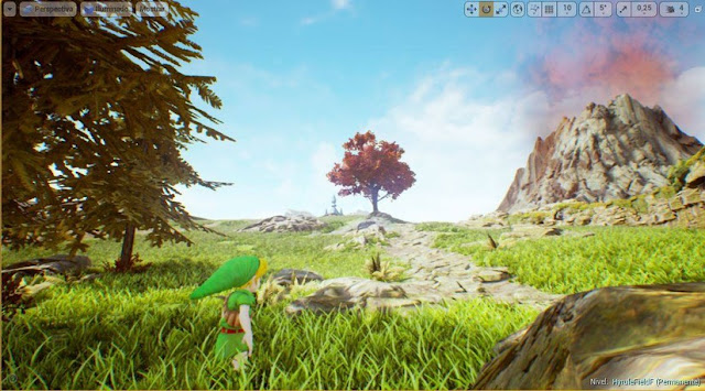 Zelda en Unreal Engine 4