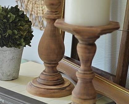 Diy como hacer candelabros de madera - Como hacer candelabros ...